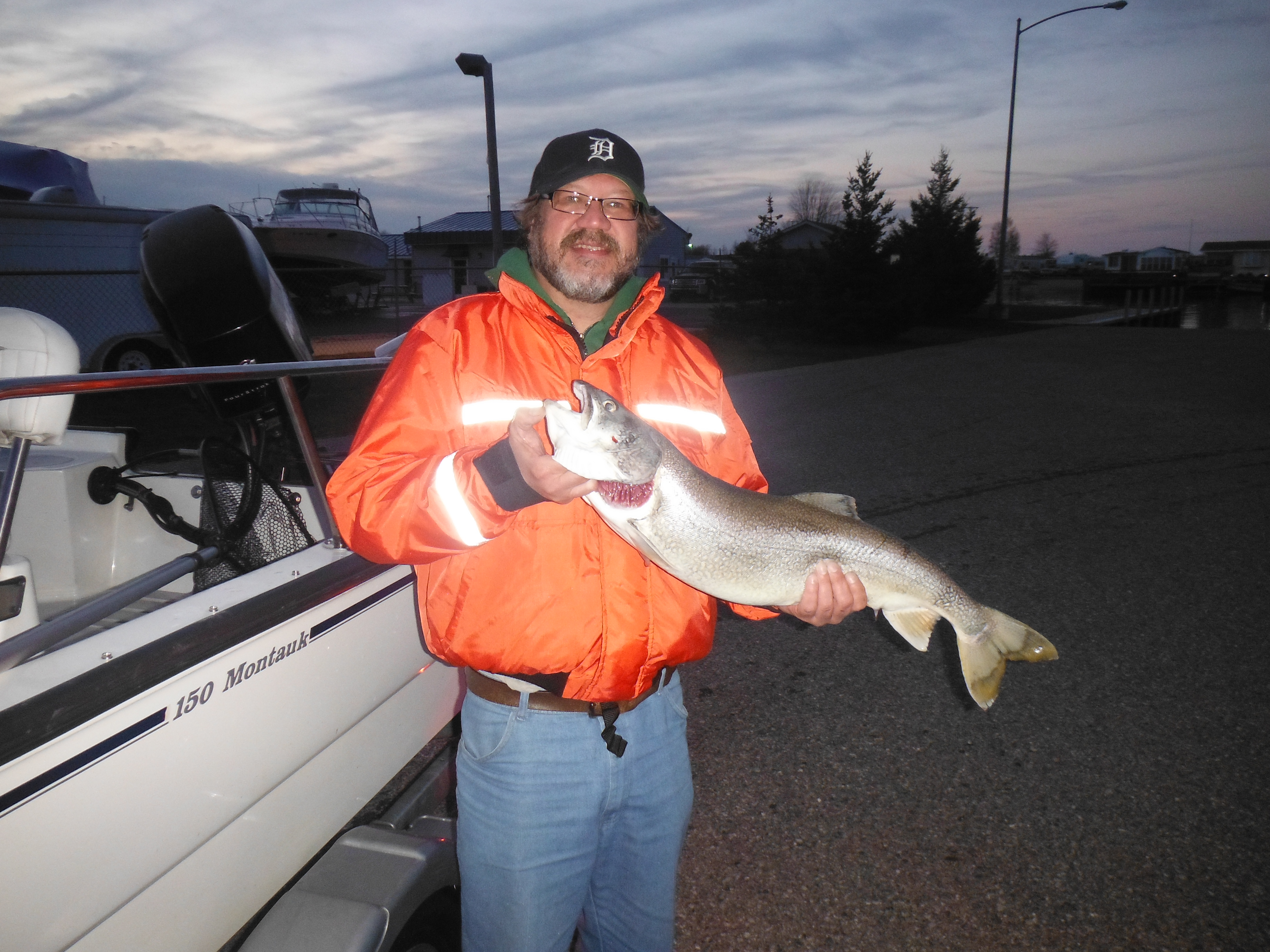 """10.4 lb. 30"""" laker from Lake Huron, in less than 20 feet of water"""