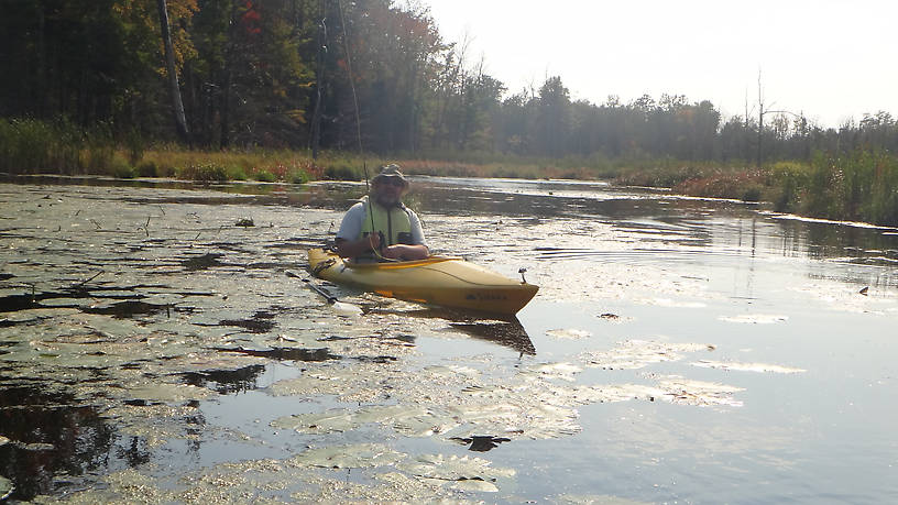 Low-rider...flipped my kayak for the first time ever