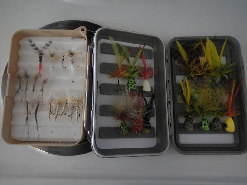 Fly boxes I deployed
