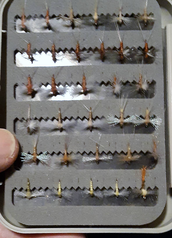 You think I like CDC caddis?