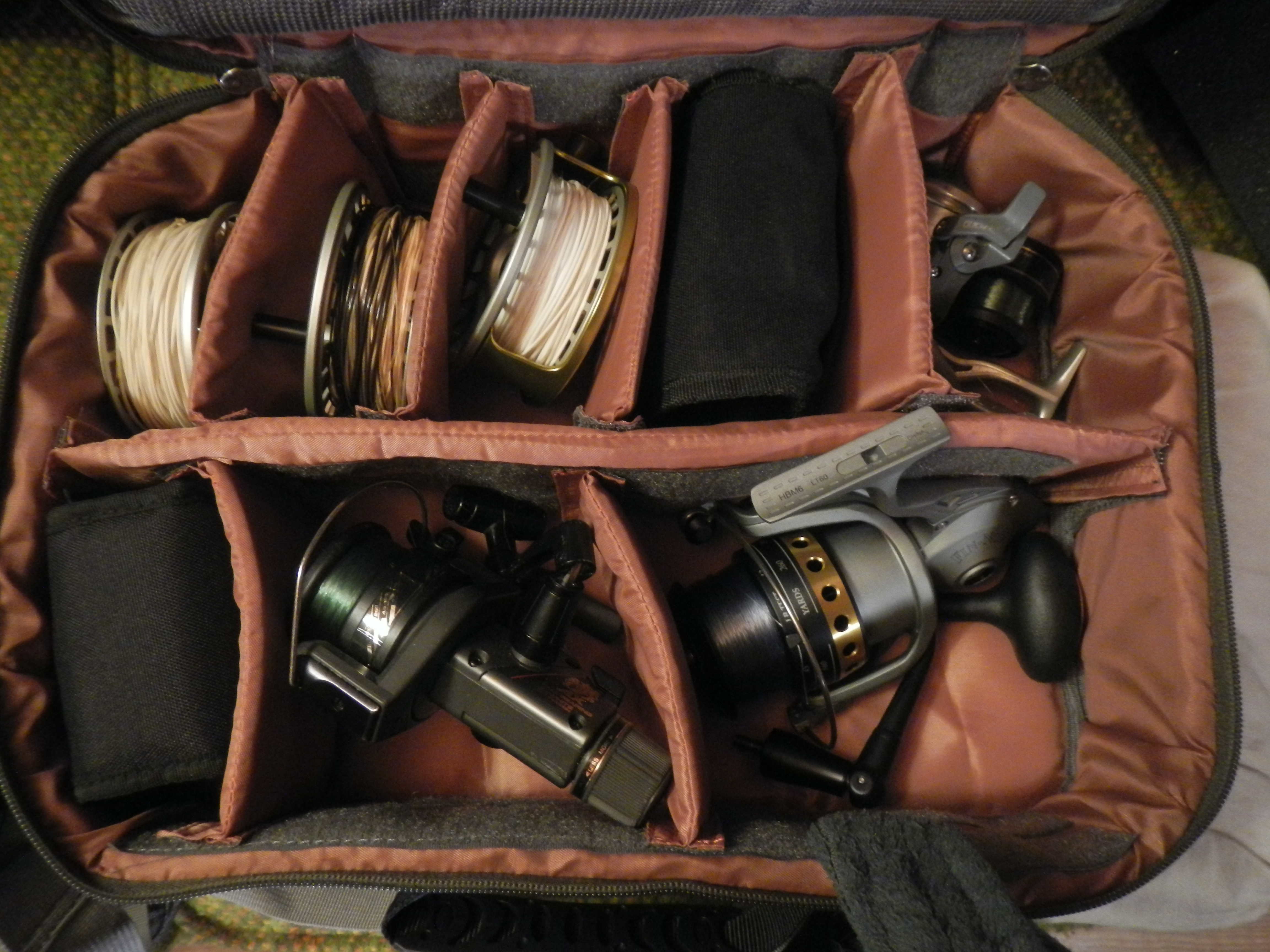 New reel case - YES there are spinning reels in there but despair not...