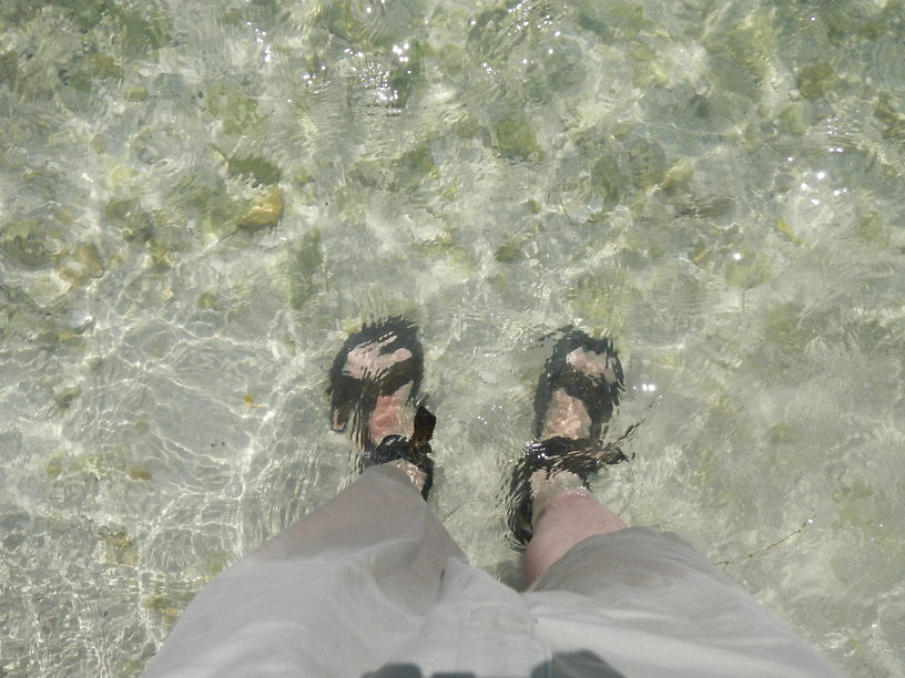 Oh that feels SOOOOOO good on my sunburned calves (from pier fishing)!!