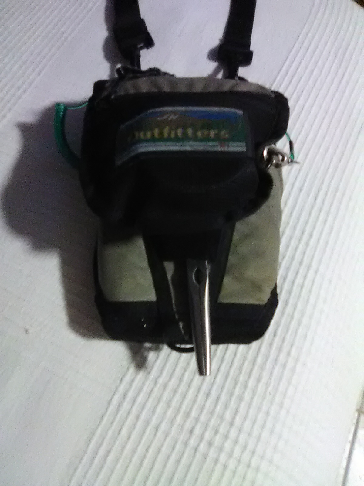 My Outfitters Bonefish Pack finally reaches self-actualization...well, almost