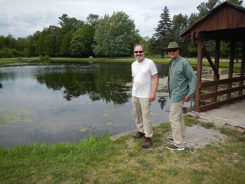 The boys at the Pond