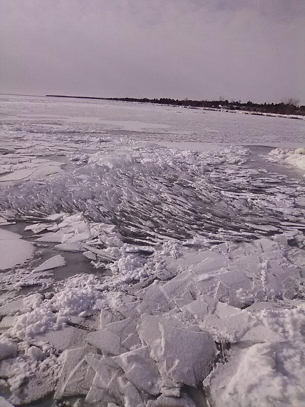 Frozen waves???