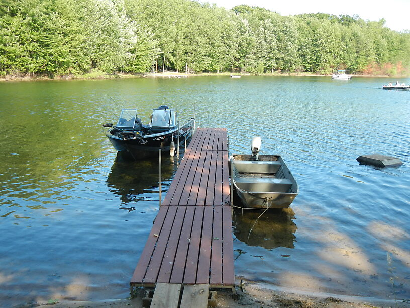 Cowden Lake from Todd's dock