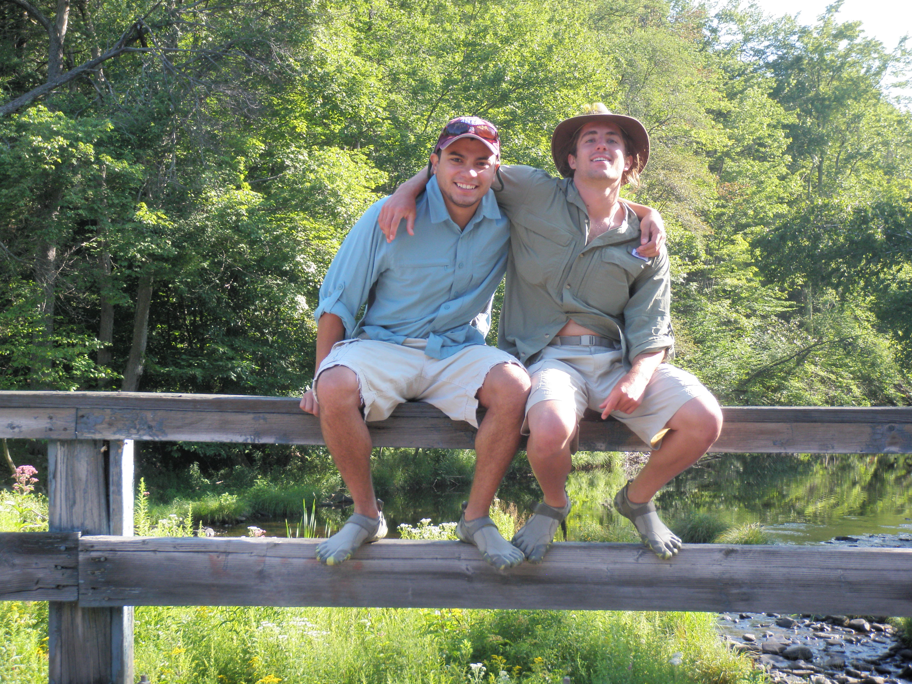 Johan and Jesse, life partners, look out fly fishing world!
