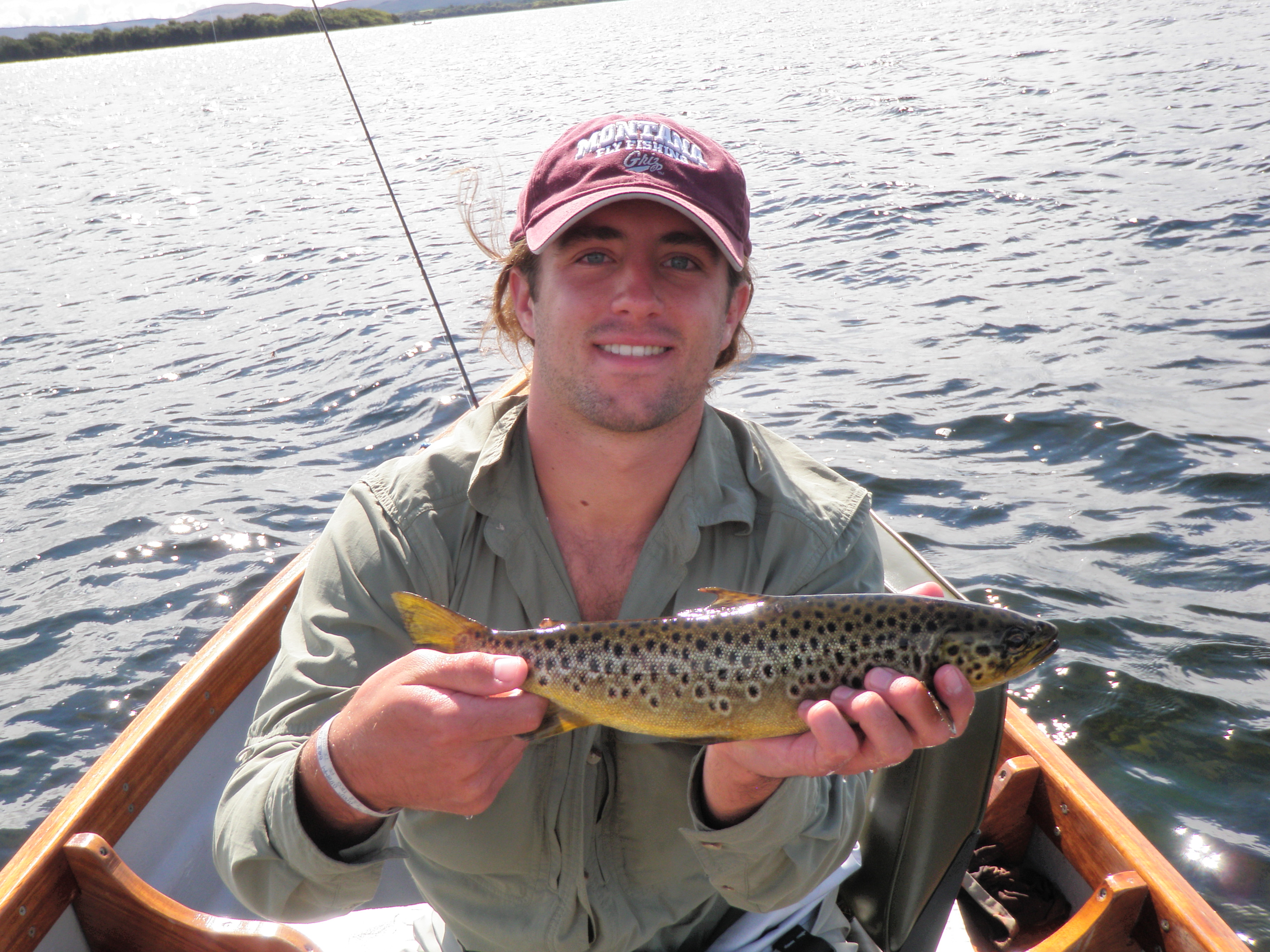 Second Corrib brown trout.