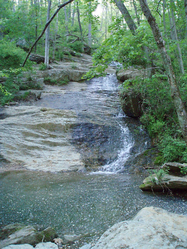 Little Gunpowder Falls in northern Maryland