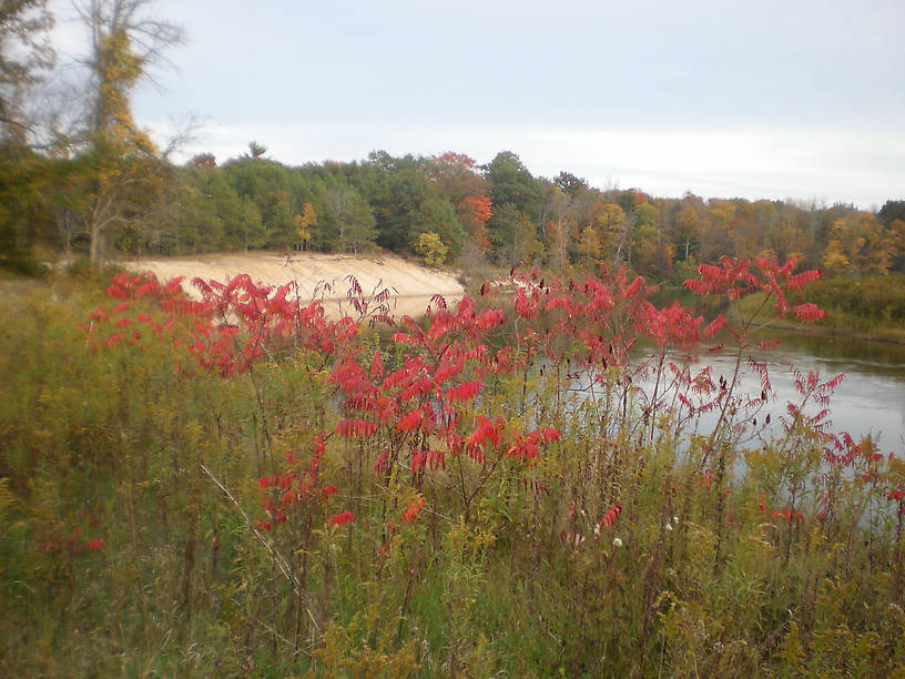 The lower Au Sable